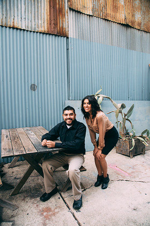 Jessica and Chris / Siblings / Downtown Los Angeles