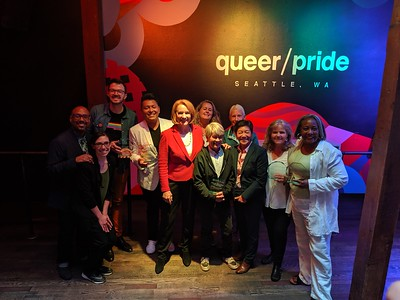 Seattle Mayor Jenny Durkan's 2019 Pride Awards / Pride Reception at queer/bar (26 June 2019)