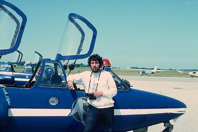 1980 - La PAF au Havre sur Fouga Magister