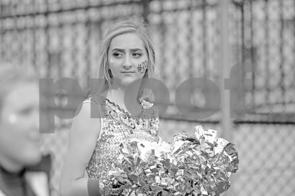 Cheerleaders and Band ,West 2018 vs. Scranton Prep