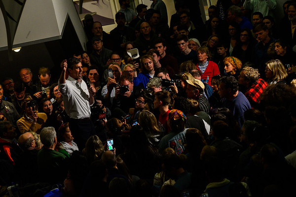 Beto makes Keene first stop in New Hampshire - 031919