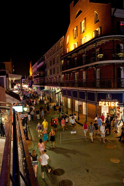 Bourbon at Night