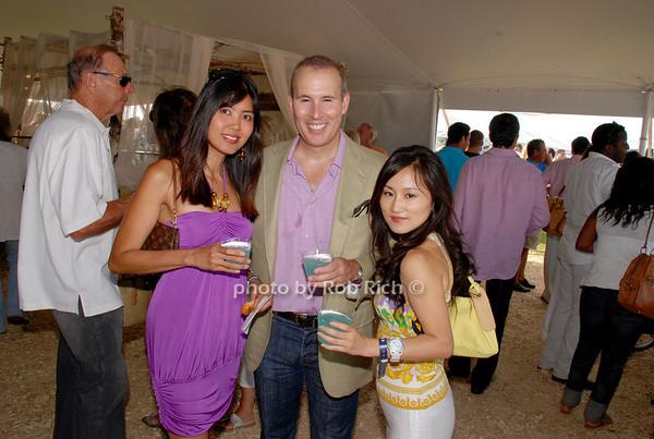 Tess Manalad, TJ Walker and Joanne Pan
