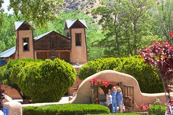 Brad and Kelly in Santa Fe
