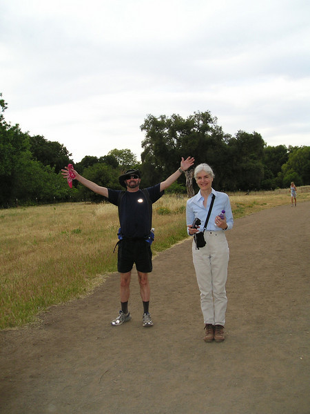 David and Karin. Posing? Who, us?