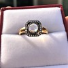 .53ctw Rose Cut Halo Ring, by Single Stone 20