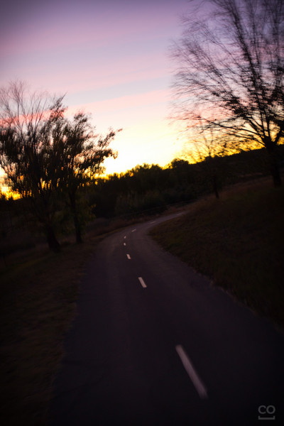 Motion shot after I realised I had another 15km's to go before dinner.