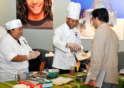 Evening High School ProStart Cooking Demo
