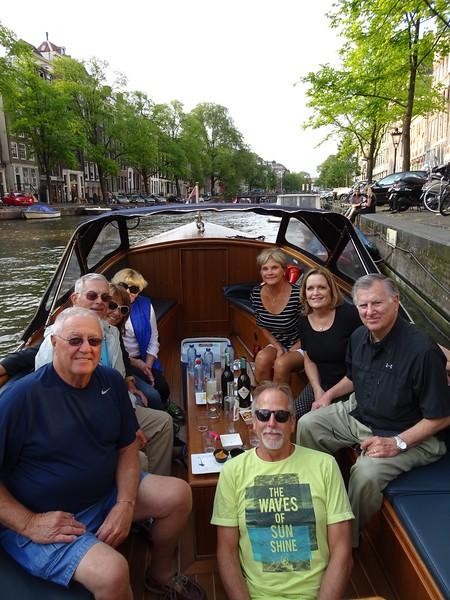 Amsterdam Canal Cruise - July 24, 2015