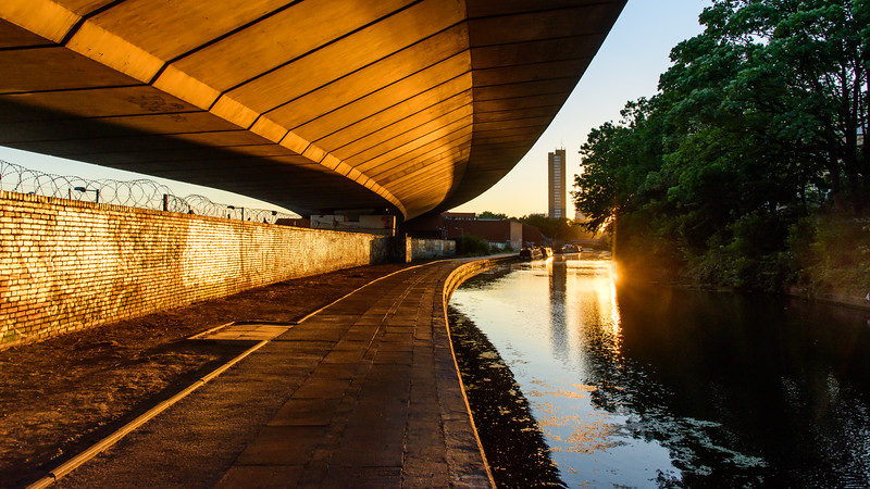 #Westway flyover on the #GrandUnion #Canal