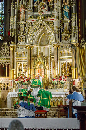 Canon Fehrenbacher's First Mass and Blessing