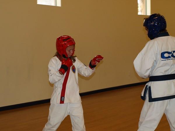 Fall 2011 Red Belt Test and Dan Classing