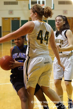 02-15-2012 Damascus HS vs Blake HS Varsity Girls Basketball, Photos by Jeffrey Vogt Photography