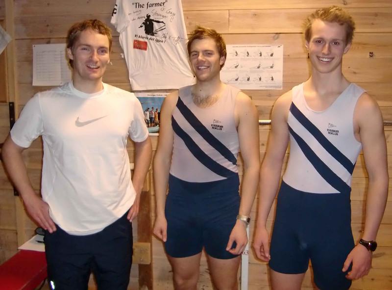 Arne, Stein Andreas og Marcus