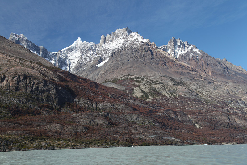 Lago Grey. Torres del Paine National Park, Chile.
