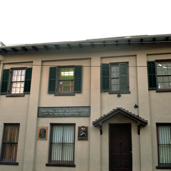 First Girl Scout Headquarters