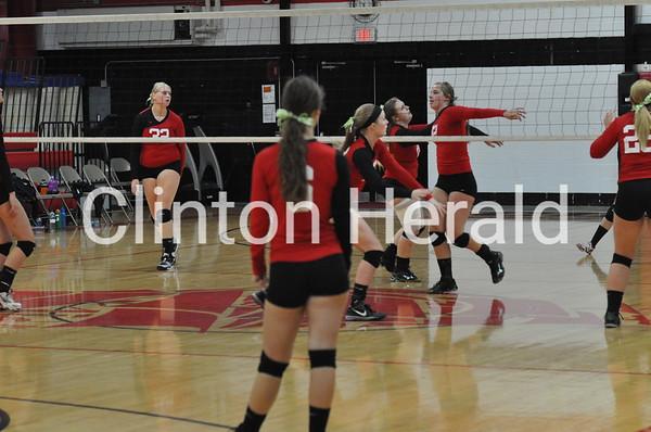 Erie vs. Eastland regional volleyball final (10-30-14)