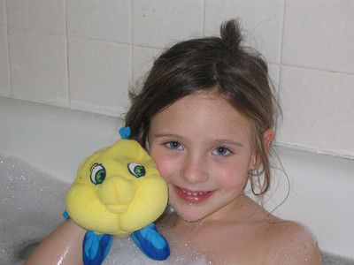 Katie Bath Time