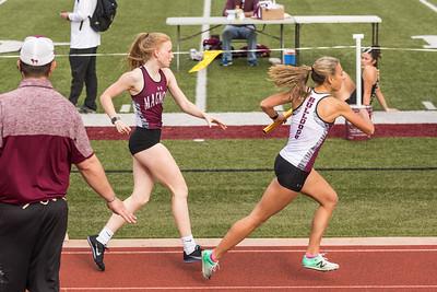 2021.03.11 Girls Magnolia Track-at Magnolia HS