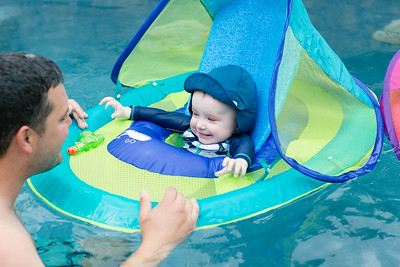 Melanie and Cameron First Swim Day 05-20-18