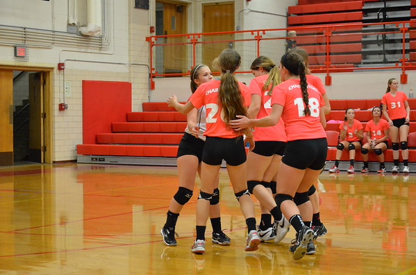CHS Volleyball vs Salem 10/9/14