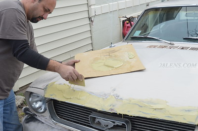 1966 Mustang Body Repair - Feb 21, 2016