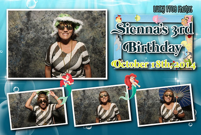 Sienna's 3rd Birthday