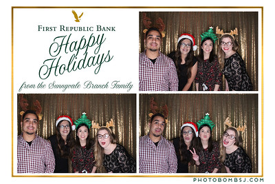 First National Bank's Holiday Party