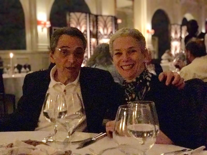 At dinner - Lisa Swenson