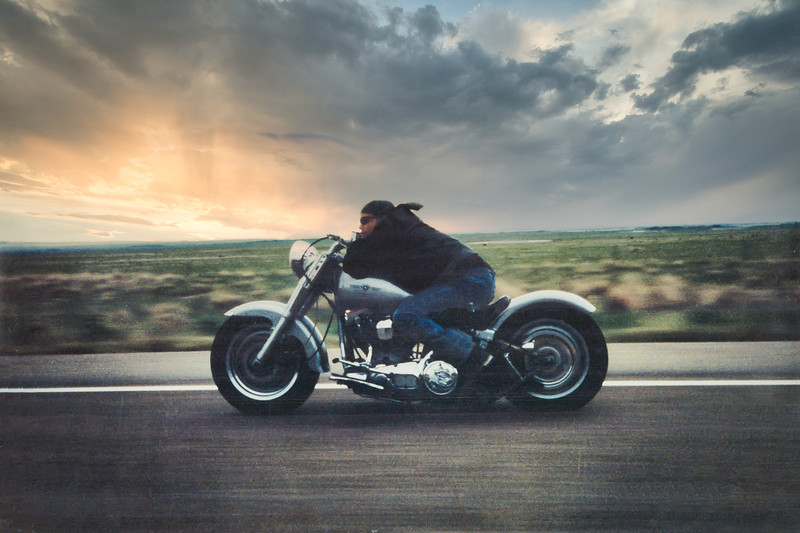 Buck Motorcycle-sunset.jpg