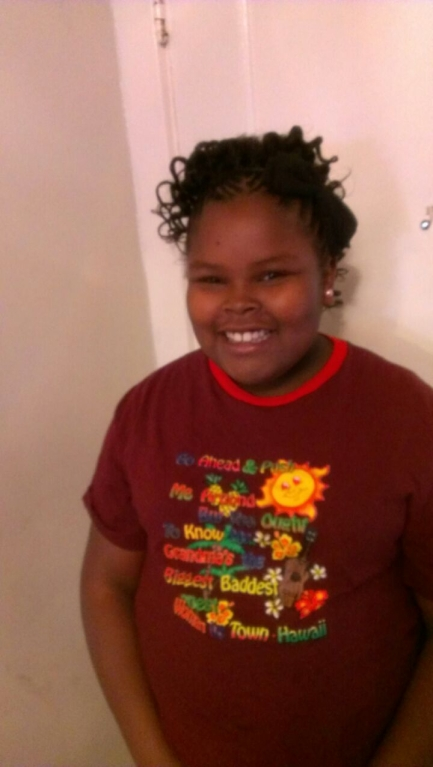. Jahi McMath, 13, who went in for a a three-part surgery to remove her tonsils and clear tissue from her nose and throat to treat sleep apnea on Monday, Dec. 9,  is now brain dead after complications post surgery. (Courtesy of the McMath Family)