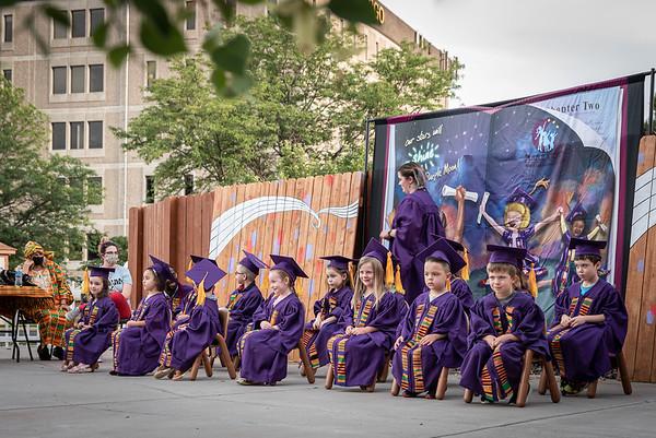 Purple Moon Graduation Ceremony 2021