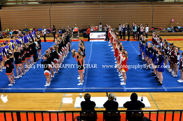 Big 8 Competitive Cheer Conference Meet 2-10-2014