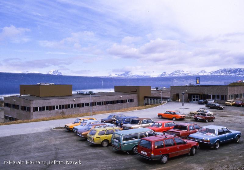 Kongsberg Våpenfabrikk, avd. Narvik.