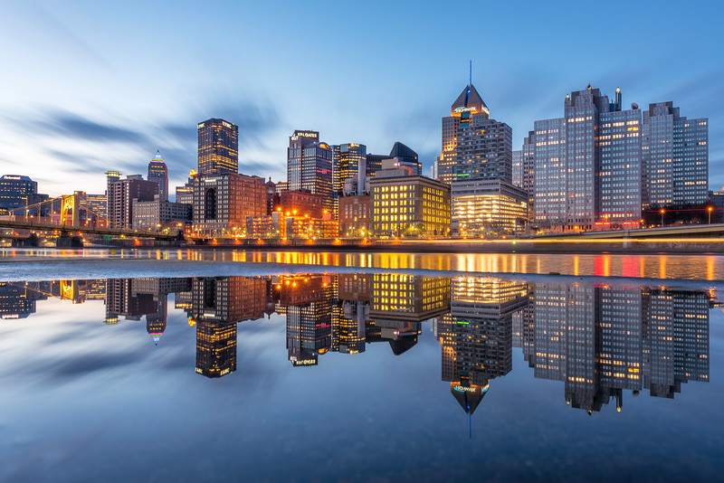 """""""Puddles the Second"""" - Pittsburgh, North Shore   Recommended Print sizes*:  4x6  
