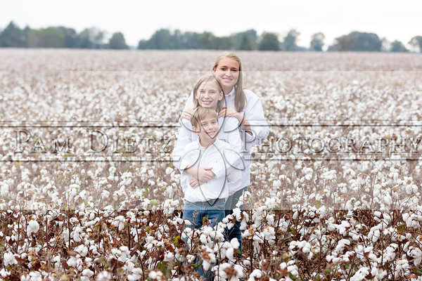 Luckey Family, Cotton 10-4-15