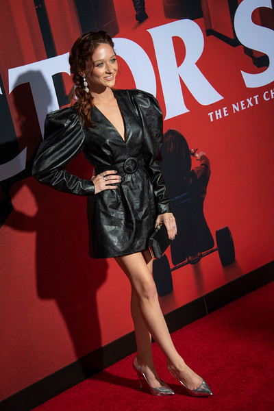 "LOS ANGELES, CALIFORNIA - OCTOBER 29: Chelsea Talmadge attends the premiere of Warner Bros Pictures' ""Doctor Sleep"" at Westwood Regency Theater on Tuesday October 29, 2019 in Los Angeles, California. (Photo by Tom Sorensen/Moovieboy Pictures,)"
