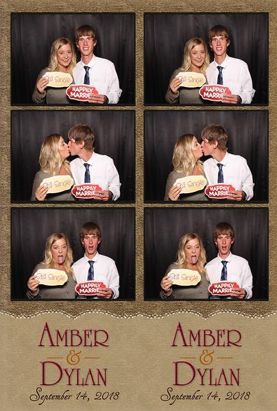 Amber & Dylan's Wedding (09/14/18)