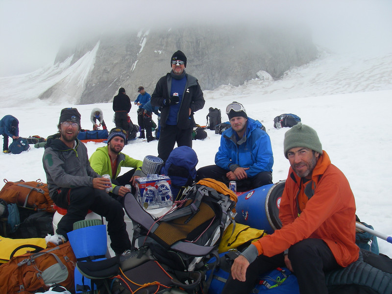 From left: Doug, John W, Donald, Tim, and John DM.
