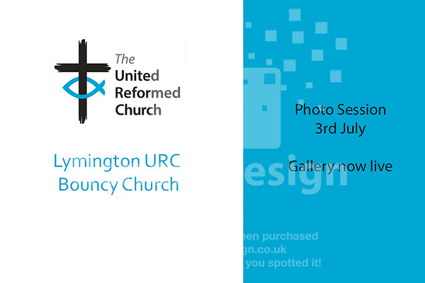 Lymington URC 2019 - Bouncy Church