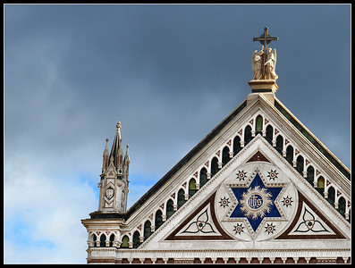 Florence - Santa Croce (Church detail)