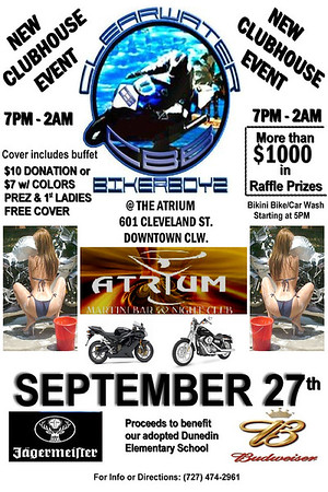 Clearwater BikerBoyz New Club House Event