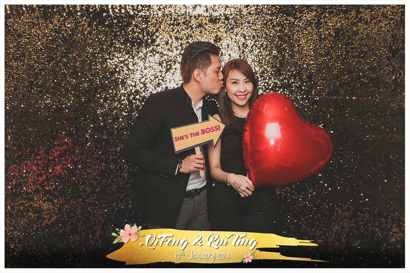 Wedding of Qi Feng & Rui Ting | © www.SRSLYPhotobooth.sg