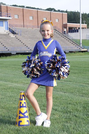 CK Bulldogs Mini Cheerleading