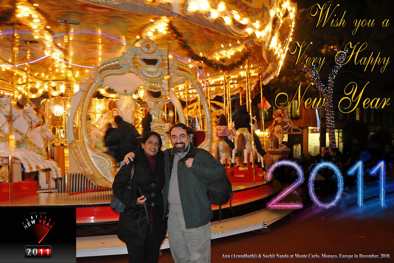 WISH YOU A VERY HAPPY NEW YEAR 2011!