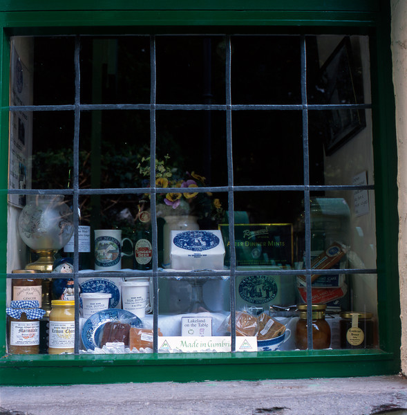 Sarah Nelson's Gingerbread Shop in Grasmere, England