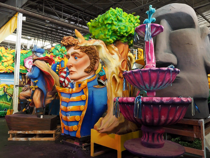Props at Mardi Gras World in New Orleans