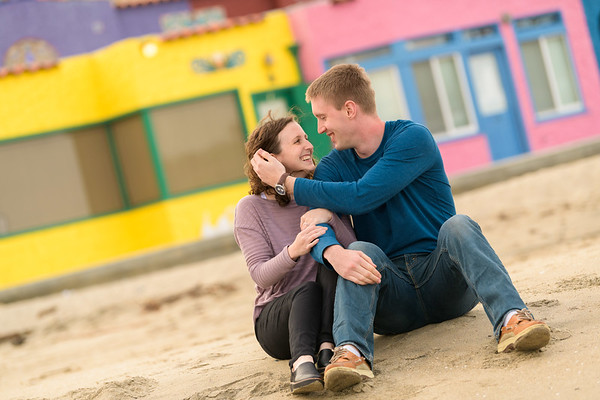 Hailee and Steve Engagement at Capitola Beach