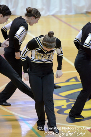 01-12-2013 Richard Montgomery HS Poms at Damascus HS Division 2, Photos by Jeffrey Vogt Photography