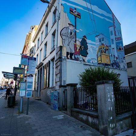 Brussels Comic Strip Walk